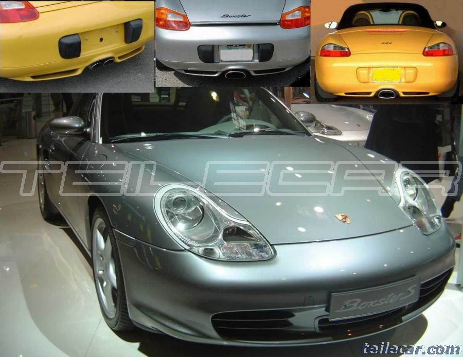 porsche 986 boxster diffusor gfk diffuser grp ebay. Black Bedroom Furniture Sets. Home Design Ideas